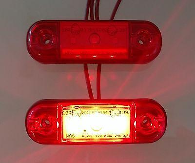 LED Umrissleuchte Begrenzungsleuchte 12V - 24V PKW LKW Anhänger WAS 709