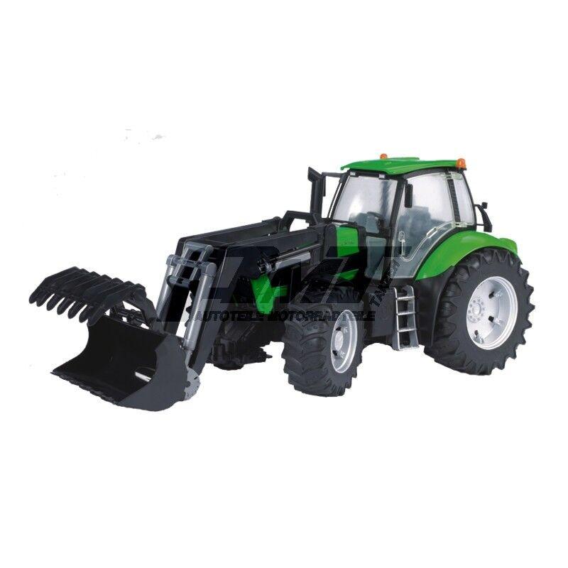 Traktor  Deutz Agrotron X720 m m m Frontlader (ca 45cm) von Bruder 03081 b3c98b
