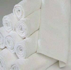 5 Lb White COTTON Terry Cloth Cleaning Towels / Rags / Wiping Cloths Premium