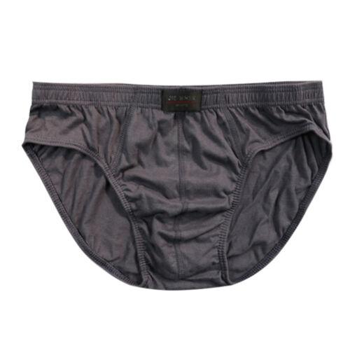 Mens High Quality Cotton Bulge Brief Boxer Soft Comfortable Underwear Underpants
