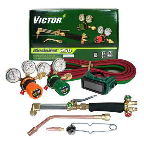 Victor 0384-2544 Medalist 250 AF//510LP Propane Cutting Torch Outfit