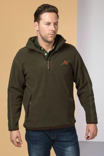 Mens Rydale Gransmoor Pheasant Logo 1//2 Zip Country Shooting Fleece