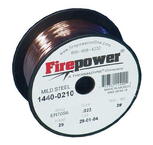 "14400210 Firepower 1440-0210 Er70s-6 Mild Steel Welding Mig Wire .023/"" 2 Lbs."