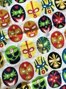 Tenugui Masked Wrestler Thin Towel kitchen Cotton 100% Brand new Japan