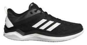 Men-039-s-Adidas-Speed-Trainer-4-Shoes-CG5131-New-in-Original-Box-Black-Carbon