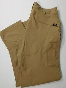Massif Pantalones Tacticos Para Hombres 36x33 Bronceado Mas Oscuro Mezcla De Nylon Frente Plano Militar Ebay