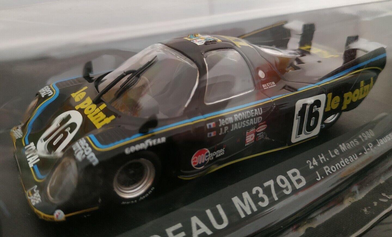 1 43 rondeau m379b  24h le hommes 1980 j. rondeau j-p. jaussaud scale metal voiture  parfait