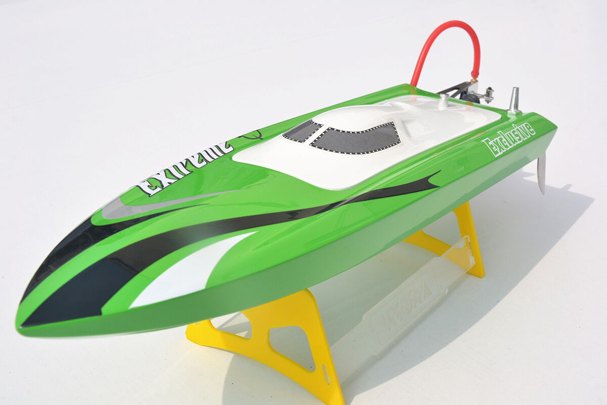 M455 Millet verde Prepainted Electric KIT RC Boat Hull Only for Advanced Player