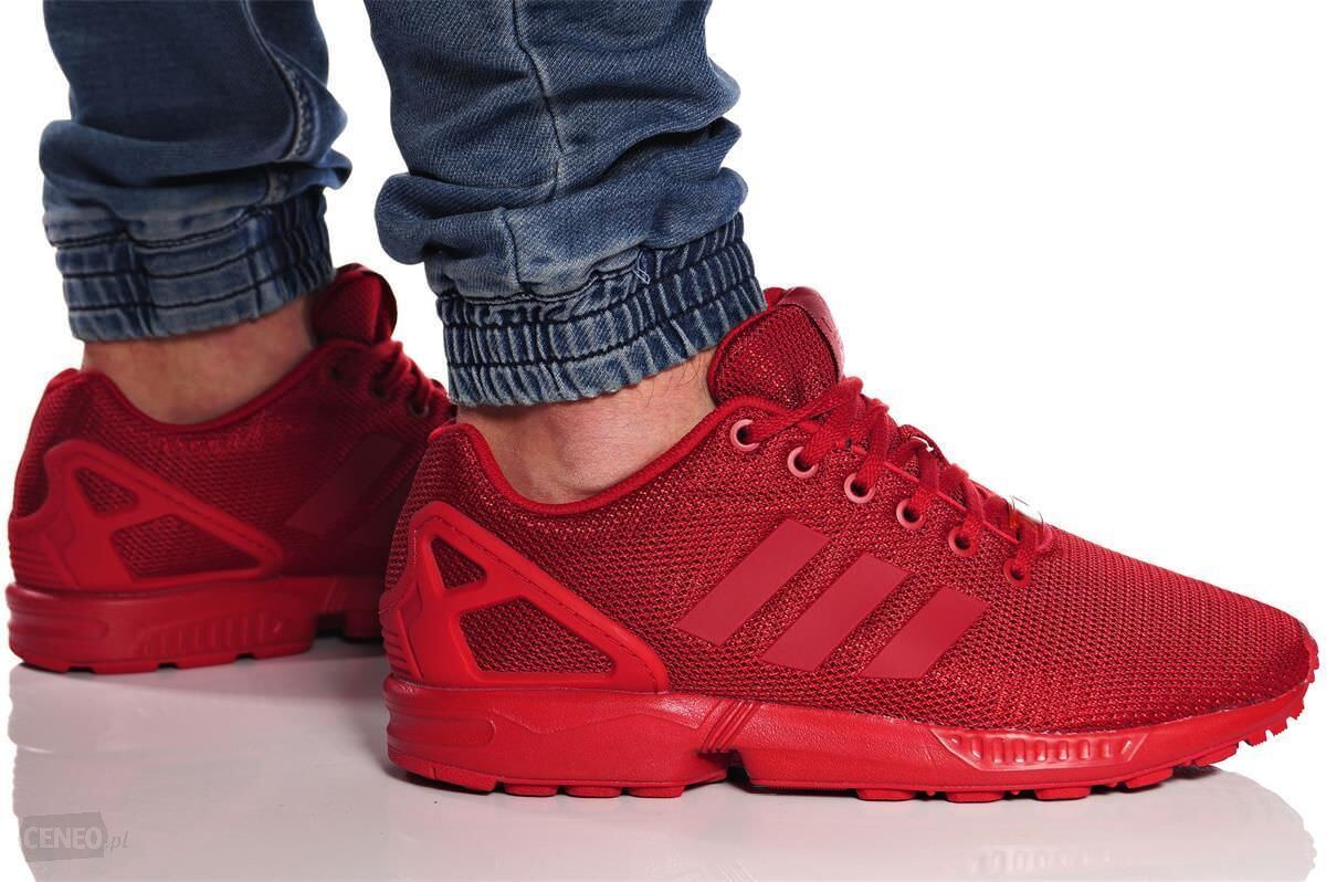 New ADIDAS Originals ZX Flux Casual Sneakers Mens triple red all sizes