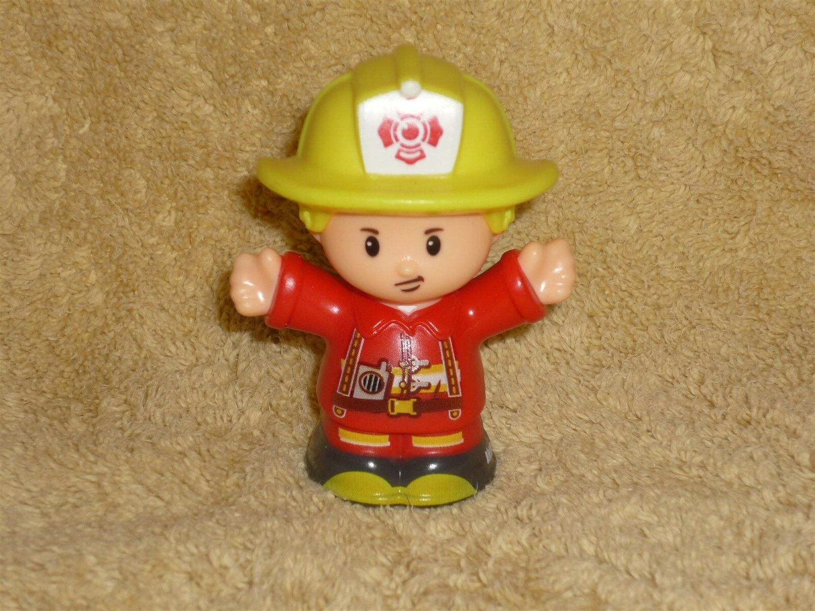 Little People Animal Pet Rescue Fireman Fire Man Dad Eddie New
