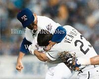 Nolan Ryan Texas Rangers Robin Ventura Chicago White Sox Fight 8x10 Photo