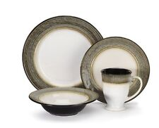 Cuisinart Stoneware Loire Collection 16-Piece Dinnerware Sets, New, Free Shippin