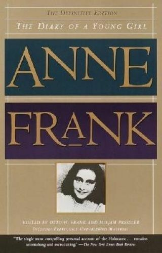 1 of 1 - Anne Frank: The Diary of a Young Girl under Nazi occupation Definitive Edition