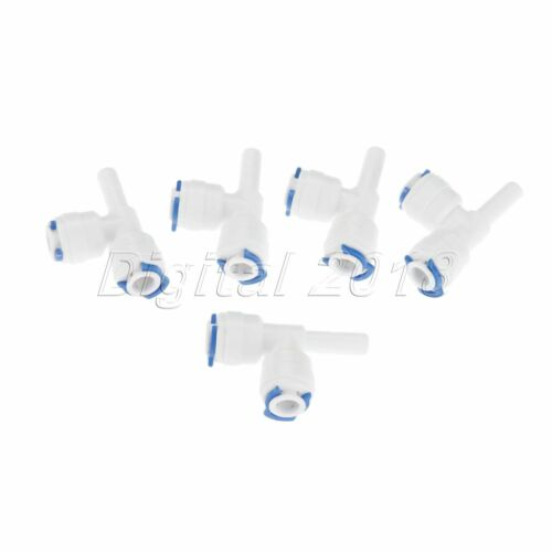 Quick Connection Water Purifiers Filters RO System Fittings Connectors T Shape