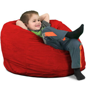 Incredible Details About Ultimate Sack Kids Bean Bag Chair Multiple Colors Materials Avail Foam Forskolin Free Trial Chair Design Images Forskolin Free Trialorg