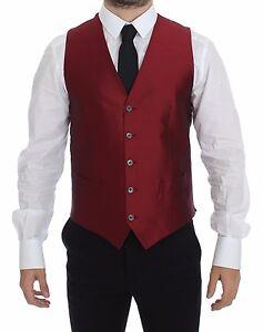 Caricamento dell immagine in corso Nuovo-Dolce-amp-Gabbana -Rosso-Vestito-di-Seta- 03be1af6337