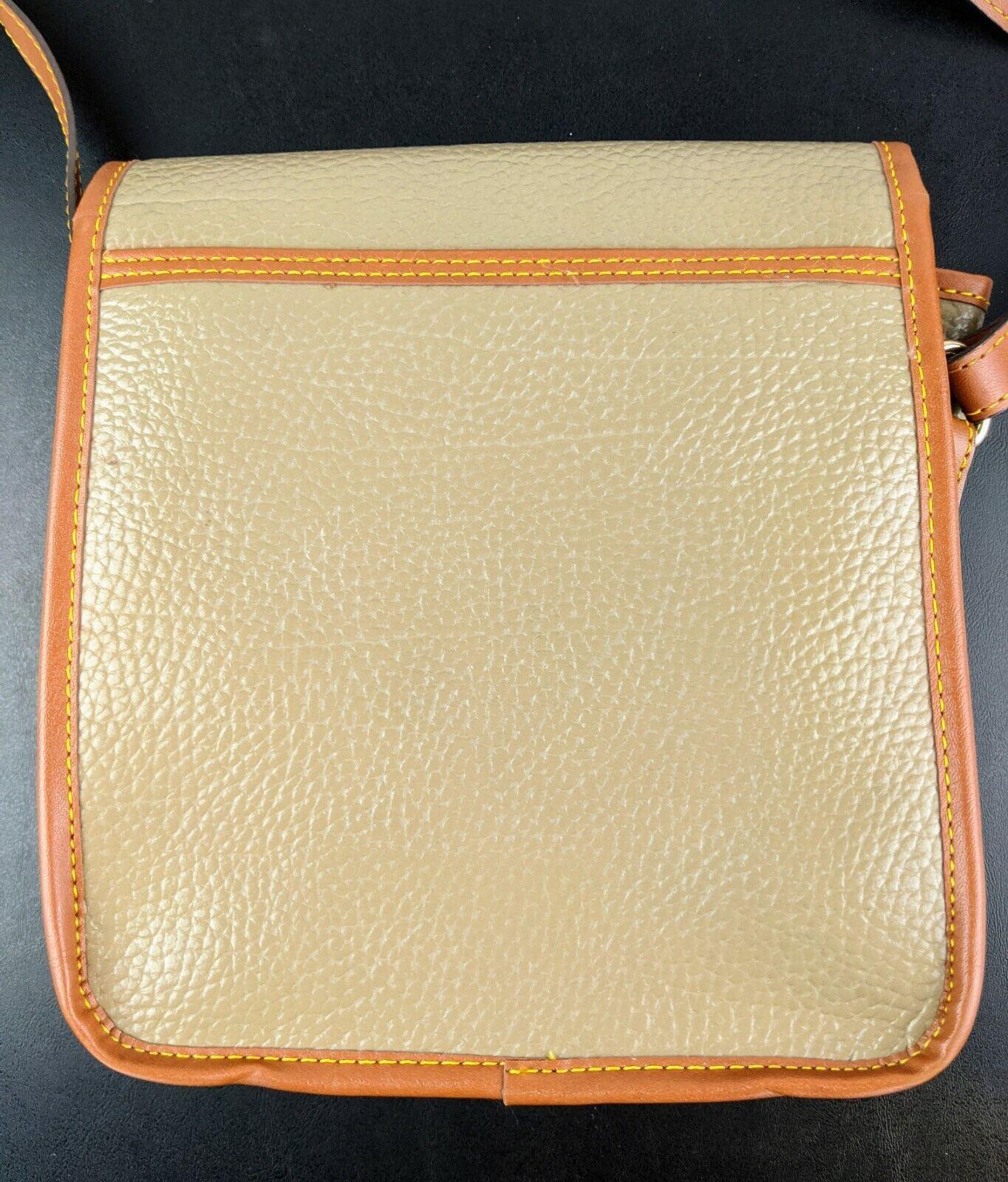 Dooney & Bourke Tan Brown Small Purse Handbag Tra… - image 4