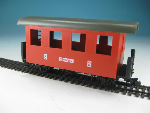 """Fleischmann-Magic Train Passenger Car /""""Zillertal Railway/"""" like 2312 0e"""