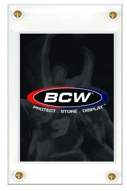 Case (180) BCW 4-SCREW CARD HOLDER - RECESSED