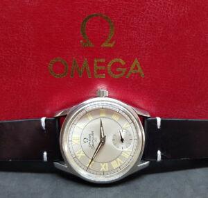USATO-1952-OMEGA-SEAMASTER-30-SUB-secondo-RUOTA-CAL-265-Manuale-Vento-Man-039-s-Watch