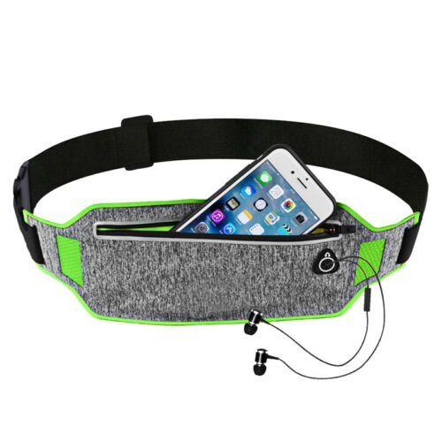Running Sport Bum Bag Pack Travel Belly Waist Money Belt Zip Hiking Pouch Wallet