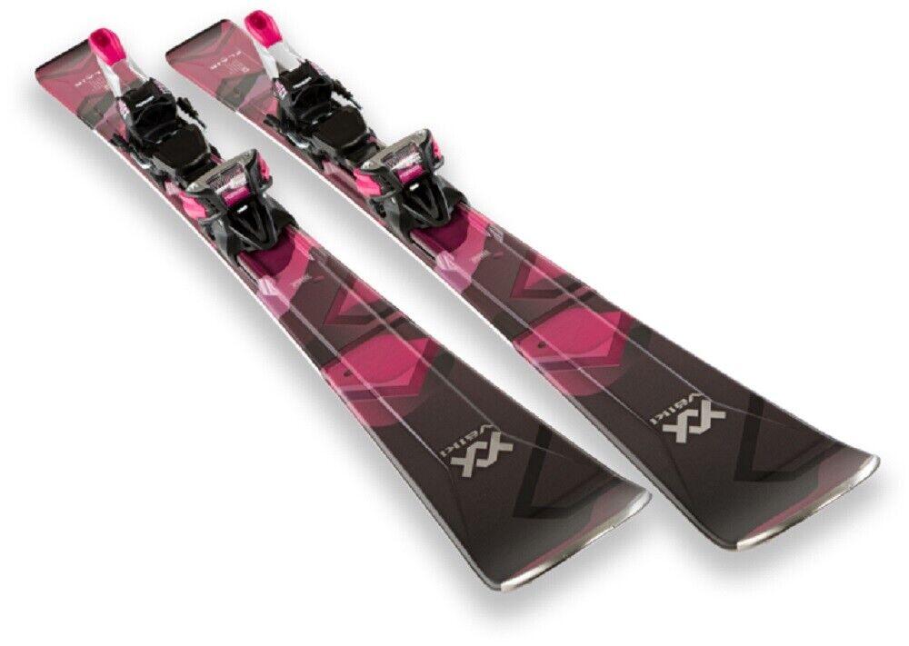 Skiwedstrijd All Mountain Womannen's VOLKL FLAIR 79 cm 163 met IPT 11 GW Seizoen 20
