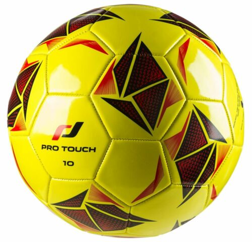 Pro Touch Football Force 10 Taille 5 Jaune Noir Rougr