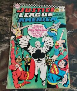 DC-Justice-League-43-1966-Comic-1st-Appearance-Royal-Flush