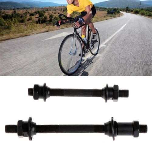 Bike Bicycle Quick Release Front Back Axles Hollow Hub Shaft Lever Rear Skewer