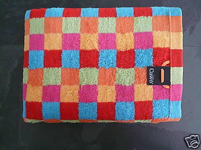 Cubes New Bath Towel Cawö Lifestyle I Sauna Multicolour