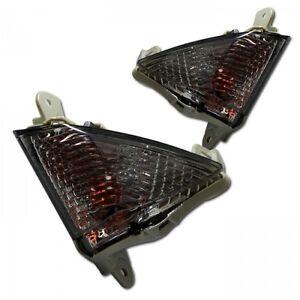 schwarze-Front-Blinker-Kawasaki-ZZR-1400-front-signals-indicators-frecce-nero