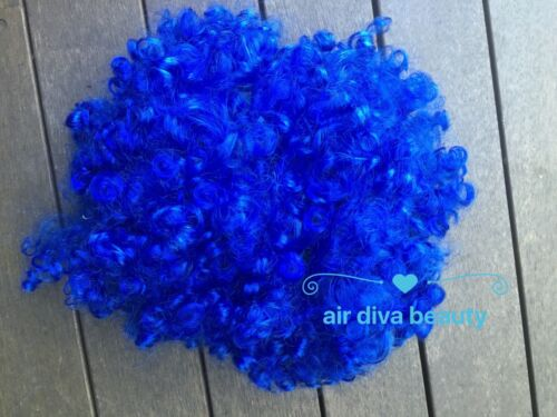 Children kid Lady Afro 70/' 80/' Disco Halloween Curly Costume Party Hair Wigs