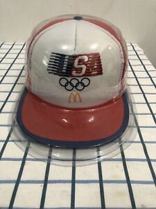 Vintage-80-s-Olympic-Mc-Donald-s-Trucker-Cap