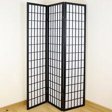 3 panel wooden ROOM DIVIDER Shoji folding Screen colour white 8034 ricepaper