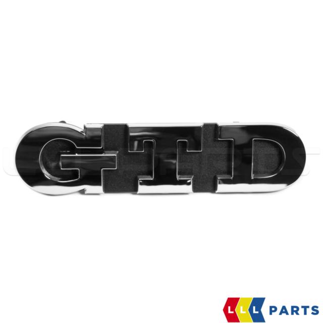 VOLKSWAGEN VW GOLF 7 VII NEW GENUINE GTD GRILL BADGE EMBLEM 5G0853679R