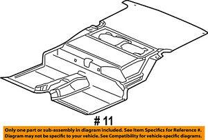 image is loading chrysler-oem-06-07-pt-cruiser-interior-rear-