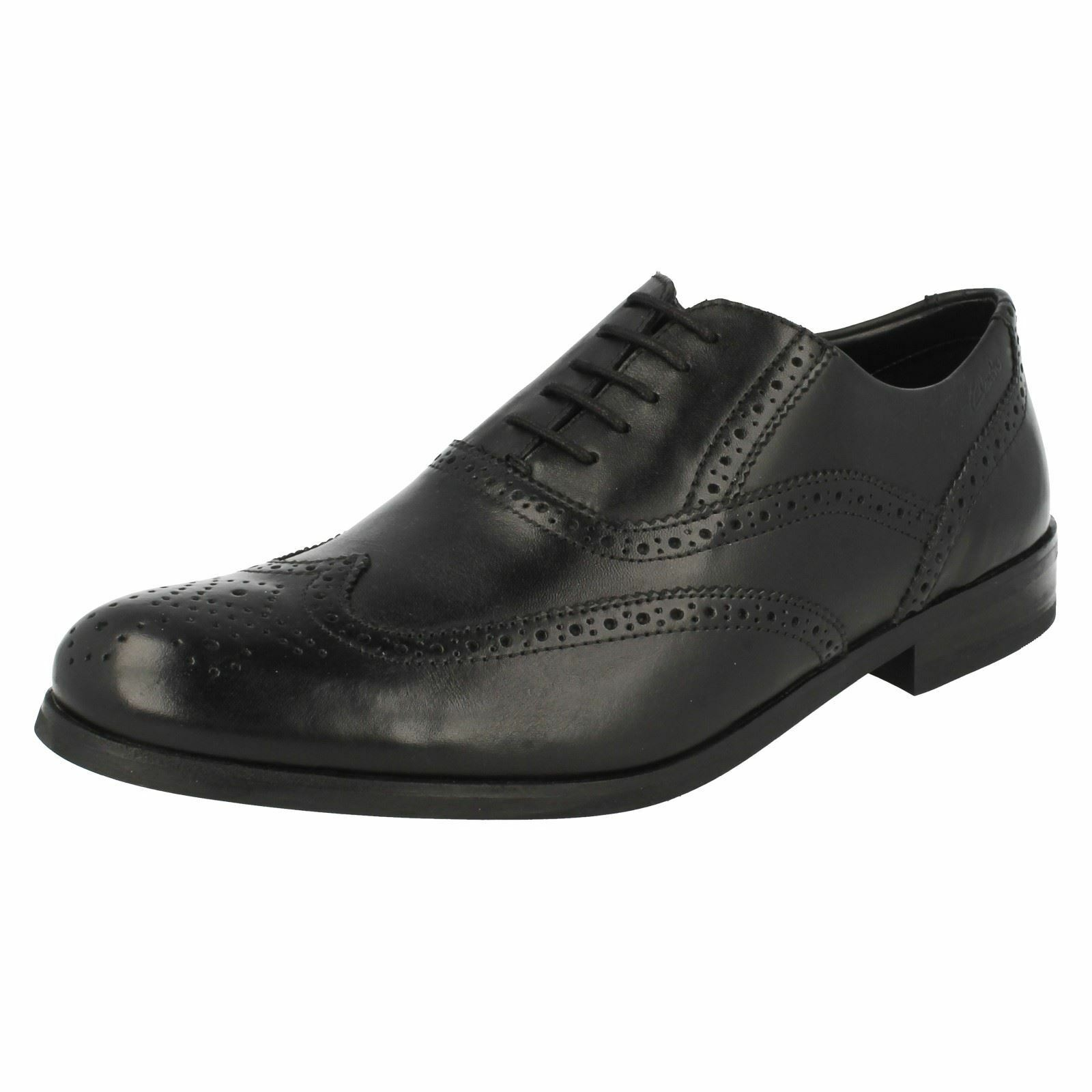Mens Clarks Brogue Formal schuhe 'Brint Brogue'