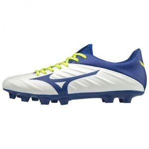 0e3889225 Mizuno Soccer Shoes Spike REBULA 2 V3 Wide P1GA1975 White × Blue ...