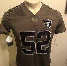 Wholesale Khalil Mack Oakland Raiders Youth Salute to Service 2016 Camo Jersey  for cheap NpgrFeC6