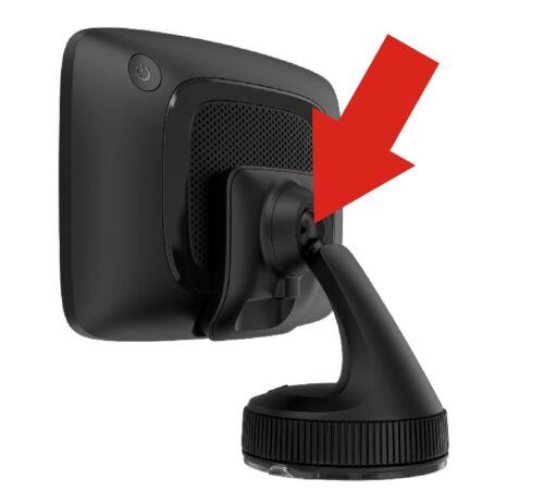 Para TomTom GO Camper//Premium 5 6 x juez nature ventilación soporte HR