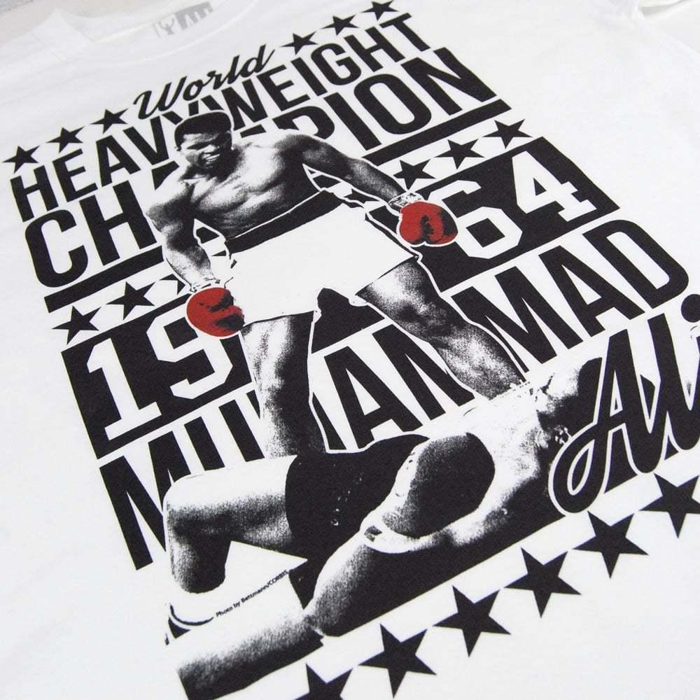 Herren Retro Muhammad Ali 64 64 64 Schwergewichts-boxen Champion T-Shirt Weiß NEU | Wirtschaft  | Elegantes Aussehen  7d228c