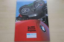 168338) BMW Motorrad - Modellprogramm - Prospekt 02/1982