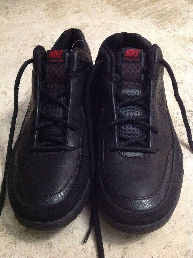 2007 riflettori nike shox riflettori 2007 nero / nero / rosso in basso le scarpe nuove dimensioni 9.5 basket 0205fe