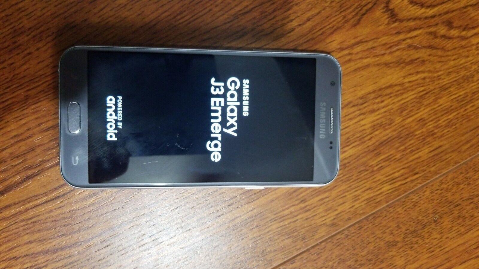 Samsung Galaxy J3 Emerge Sm J327p Sprint Grey Clean Esn For Sale Online Ebay