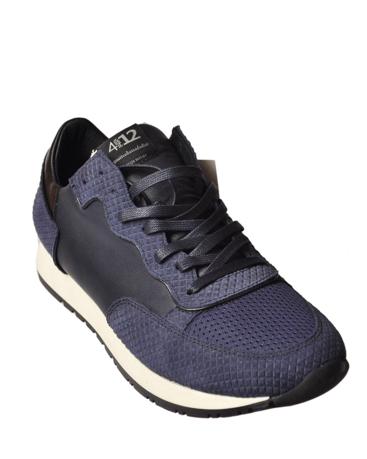 Quattrobarradodici  -  scarpe da ginnastica - Male - blu - 49123A181616