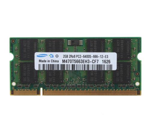 10pcs Samsung Kits 2GB 2Rx8 PC2-6400 DDR2 800Mhz CL6 SODIMM Laptop Memory RAM #D