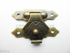10Pcs mini bird cage catch,small box hardware,box hasp catch latches,30mm x 20mm
