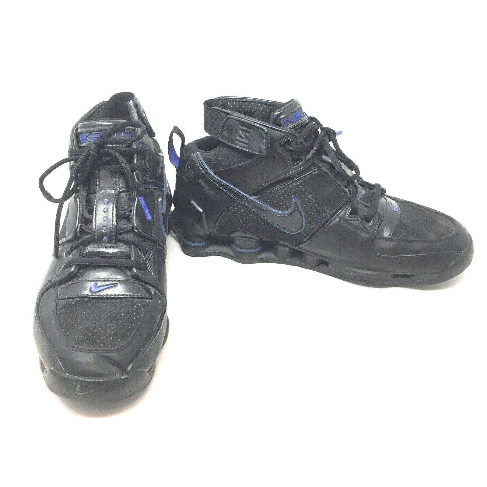 Nike Shox Elite TB 2004 Retro shoes Black bluee 10.5 310375 001 High Top 1B