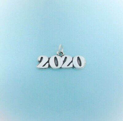 Made in USA Graduation Class Sterling Silver 2019 Year Charm Stacking