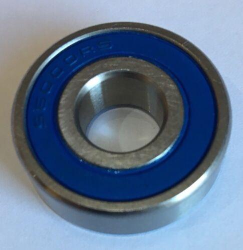 10 x S6000-2RS Acciaio Inox Cuscinetto A Sfera 10x26x8mm